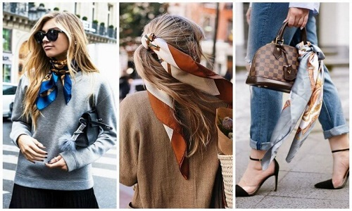 How To Wear Scarves With Dresses – How To Use Winter Scarf & Scarf Headband